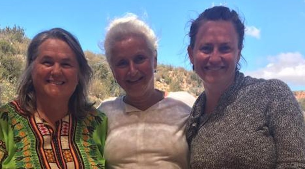 Lolla, Zuzanka & Claire-Louise, unsere wunderbare Köchin