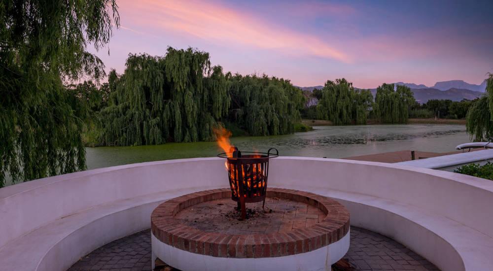 Der richtige Ort für eine Weinprobe in Afrika